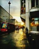 Westminster och reflexioner Fotografering för Bildbyråer