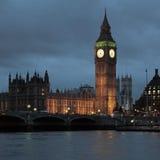 Westminster pałacu Obrazy Royalty Free