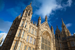 Westminster palace. Westminster in London in England Stock Photos