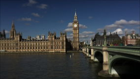 Westminster Palace and Big Ben London stock video