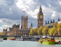 Westminster palace and Big Ben, London, UK Stock Images