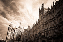 Westminster Palace - City of London. Westminster Parliament - City of London, United Kingdom of England Royalty Free Stock Photos