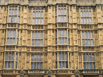 Westminster Palace Facade Royalty Free Stock Photo