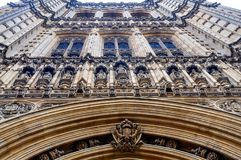 Westminster palace in London detail Royalty Free Stock Image