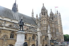 Westminster palace, other view Royalty Free Stock Images