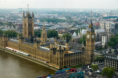 Westminster-Palast in London Lizenzfreies Stockbild