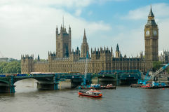 Westminster-Palast in London Stockfoto
