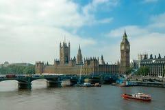 Westminster-Palast in London Lizenzfreies Stockbild