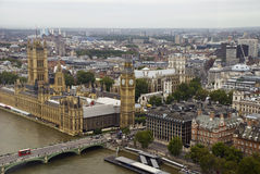 Westminster-Palastansicht Lizenzfreie Stockfotografie