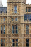 Westminster parliament, detail Royalty Free Stock Photos