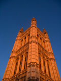 Westminster parliament tower Royalty Free Stock Photos