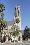 Westminster Presbyterian Chruch in Pasadena Royalty Free Stock Photo