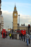 Westminster: Punto di vista del Parlamento e del grande Ben, Londra Immagini Stock Libere da Diritti