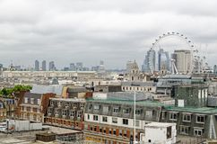 Westminster Rooftops And London Skyline Royalty Free Stock Photo