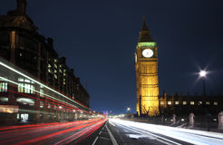Westminster's traffic Royalty Free Stock Photos
