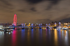 Westminster Skyline Royalty Free Stock Photos