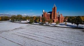Westminster slott i Colorado Arkivbilder