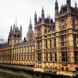 Westminster slott London, Big Ben Royaltyfri Bild