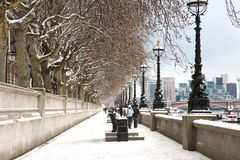 Westminster South Bank. Seen from Westminster Bridge stock photography