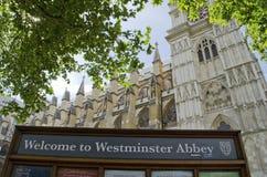 Westminster station Arkivbilder