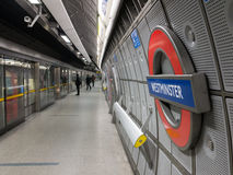 Westminster Station Royalty Free Stock Photography