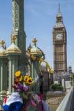 Westminster terrorattack i London Royaltyfri Foto
