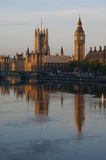 Westminster and the Thames Stock Photography