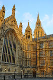 Westminster: torres peaky do parlamento, Londres Imagens de Stock Royalty Free