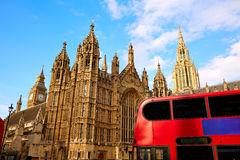 Westminster tower near Big Ben in London Royalty Free Stock Photo