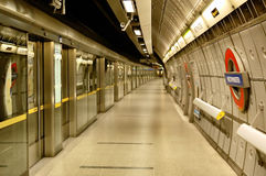 Westminster tube station Royalty Free Stock Images