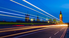 Westminster u. Big Ben lizenzfreie stockfotos