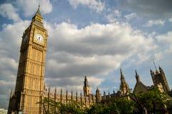 Westminster und Big Ben Stockbild