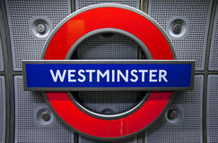 Westminster Underground Station Royalty Free Stock Photos