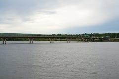 Westmorland gatabro - Fredericton - Kanada arkivbild