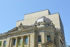 Westmountpostkantoor in Montreal Stock Foto