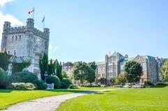 Westmountstadhuis in Montreal Stock Afbeelding