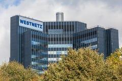 Westnetz building in dortmund germany royalty free stock image