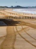 Weston超级母马海滩Somerset 免版税图库摄影
