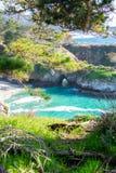 Weston Beach Point Lobos Carmel-vid--hav arkivfoto