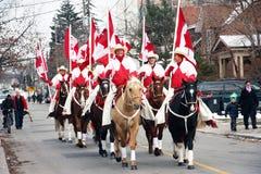 weston roczny Claus parady Santa weston obrazy stock