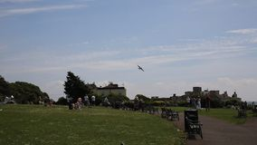 Weston-s-конематка фестиваля воздуха Weston крепости летания видеоматериал
