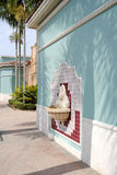 Weston stadskärnaFort Lauderdale Arkivfoton