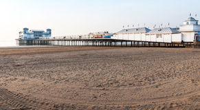 Weston Super Mare looking towards Brean Down Stock Photography