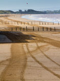 Weston-super-Mare beach Somerset Royalty Free Stock Photography