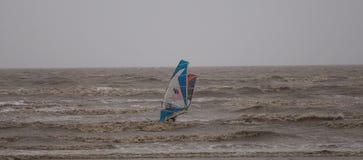 Weston Super Mare Kitesurfing photo stock