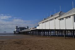 Weston super mare pier Royalty Free Stock Photography