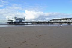 Weston super mare pier Stock Image