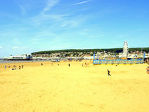 Weston-Super-Mare, Somerset. Royalty Free Stock Images
