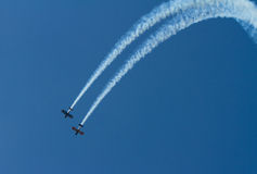 Weston-super-mare Somerset airshow Royalty Free Stock Photography