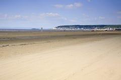 Weston Super Mare-Strand Stockfoto